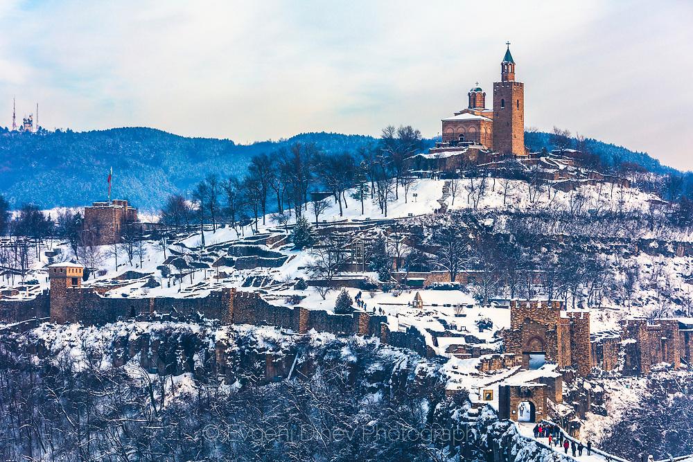 Trapezitsa hill in Veliko Tarnovo