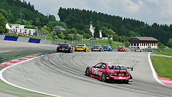 05.06.2011, Red Bull Ring, Spielberg, AUT, DTM Red Bull Ring, im Bild ein Feature mit Susie Stoddart, (GBR, TV Spielfilm AMG Mercedes), David Coulthard, (GBR, Deutsche Post AMG Mercedes), Mattias Ekstroem, (SWE, Audi Sport Team Abt Sportsline) // during the DTM race on the Red Bull Circuit in Spielberg, 2011/06/05, EXPA Pictures © 2011, PhotoCredit: EXPA/ S. Zangrando