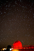 Telescope Star watching in the Atacama Desert. Chile, South America