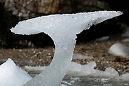 Ice formation, Svalbard, Norway