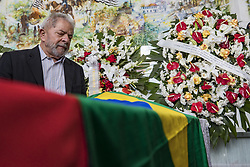 July 21, 2017 - Sao Paulo, Sao Paulo, Brazil - Jul 21, 2017 - Sao Paulo, Sao Paulo, Brazil - Former president LULA during the wake, at the legislative assembly in the city of Sao Paulo, of former presidential aide and founder of the workers' party MARCO AURELIO GARCIA, killed yesterday, victim of a heart attack. (Credit Image: © Marcelo Chello/CJPress via ZUMA Wire)