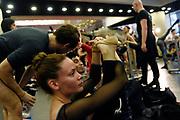 20180429/ Nicolas Celaya - adhocFOTOS/ URUGUAY/ MONTEVIDEO/ AUDITORIO NACIONAL SODRE/ Clase abierta del Ballet Nacional del Sodre, en el Auditorio Nacional del Sodre, Montevideo. <br /> En la foto: Clase abierta del Ballet Nacional del Sodre, en el Auditorio Nacional del Sodre, Montevideo. Foto: Nicolás Celaya /adhocFOTOS