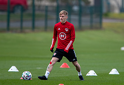 CARDIFF, WALES - Monday, March 29, 2021: Wales' Matthew Smith during a training session at the Vale Resort ahead of the FIFA World Cup Qatar 2022 Qualifying Group E game against the Czech Republic. (Pic by David Rawcliffe/Propaganda)