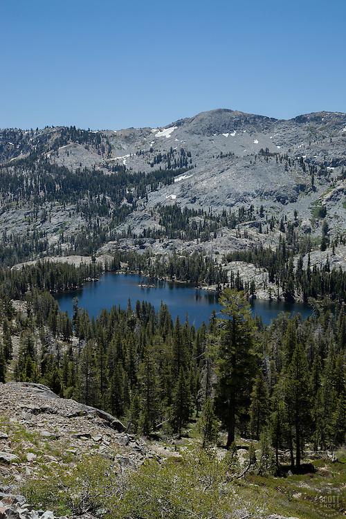 """Tamarack Lake"" - Photograph of Tamarack Lake in the Tahoe Desolation Wilderness."