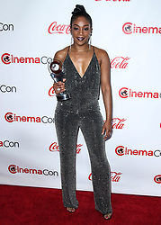 LAS VEGAS, NV, USA - APRIL 26: CinemaCon Big Screen Achievement Awards 2018 held at Omnia Nightclub at Caesars Palace during CinemaCon, the official convention of the National Association of Theatre Owners on April 26, 2018 in Las Vegas, Nevada, United States. 26 Apr 2018 Pictured: Tiffany Haddish. Photo credit: Xavier Collin/Image Press Agency / MEGA TheMegaAgency.com +1 888 505 6342