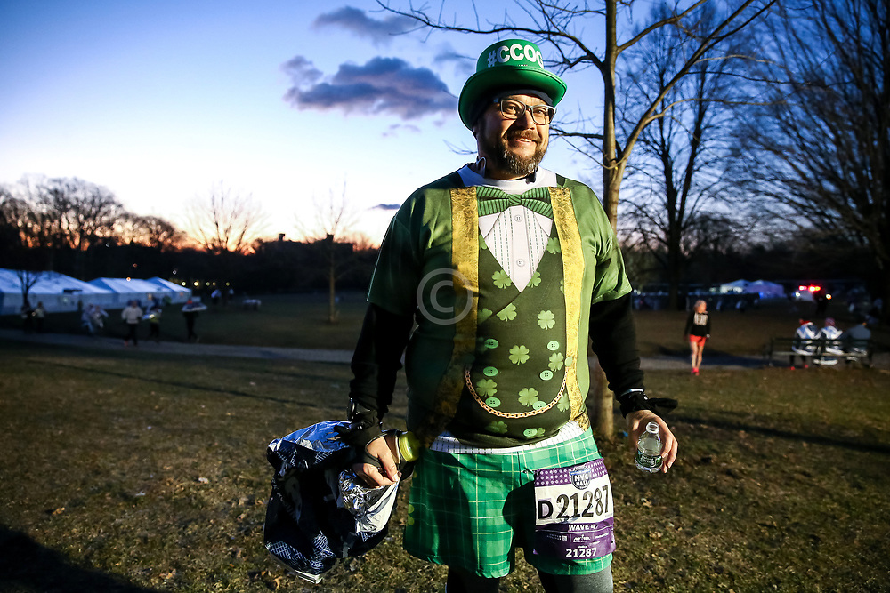 St Patricks Day Leprechan<br /> NYRR NYC Half Marathon