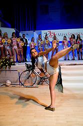 Alenka Pirnat at event Miss Sports of Slovenia, on April 18, 2009, in Festivalna dvorana, Ljubljana, Slovenia. (Photo by Ales Oblak / Sportida)
