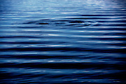 majestic blue ripples showing suns highlights overhead in deep pacific ocean