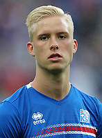 Uefa - World Cup Fifa Russia 2018 Qualifier / <br /> Iceland National Team - Preview Set - <br /> Hordur Bjorgvin Magnusson