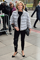 © Licensed to London News Pictures. 08/03/2016. TINA HOBLEY arrives for the TRIC Awards. The Television and Radio Industries Club's annual awards ceremony, honour's the best performers and programmes  of the last year .London, UK. Photo credit: Ray Tang/LNP