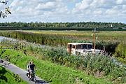 Recreation on water at the Woerdense Verlaat, Utrecht, Netherlands. - Recreatie op water bij het Woerdense Verlaat.