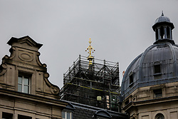 © Licensed to London News Pictures. 16/10/2019. London, UK. The top of Big Ben is visible following the removal of the scaffolding. Elizabeth Tower also known as Big Ben is undergoing repairs and will resume its usual striking and tolling in 2021. Photo credit: Dinendra Haria/LNP