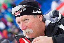 Ferdinand  Hirscher, father of HIRSCHER Marcel of Austria during the 2nd Run of 7th Men's Giant Slalom - Pokal Vitranc 2013 of FIS Alpine Ski World Cup 2012/2013, on March 9, 2013 in Vitranc, Kranjska Gora, Slovenia. (Photo By Vid Ponikvar / Sportida.com)