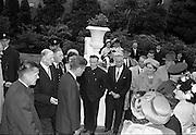 President John F. Kennedy attends a Garden Party at Aras an Uachtarain..27.06.1963