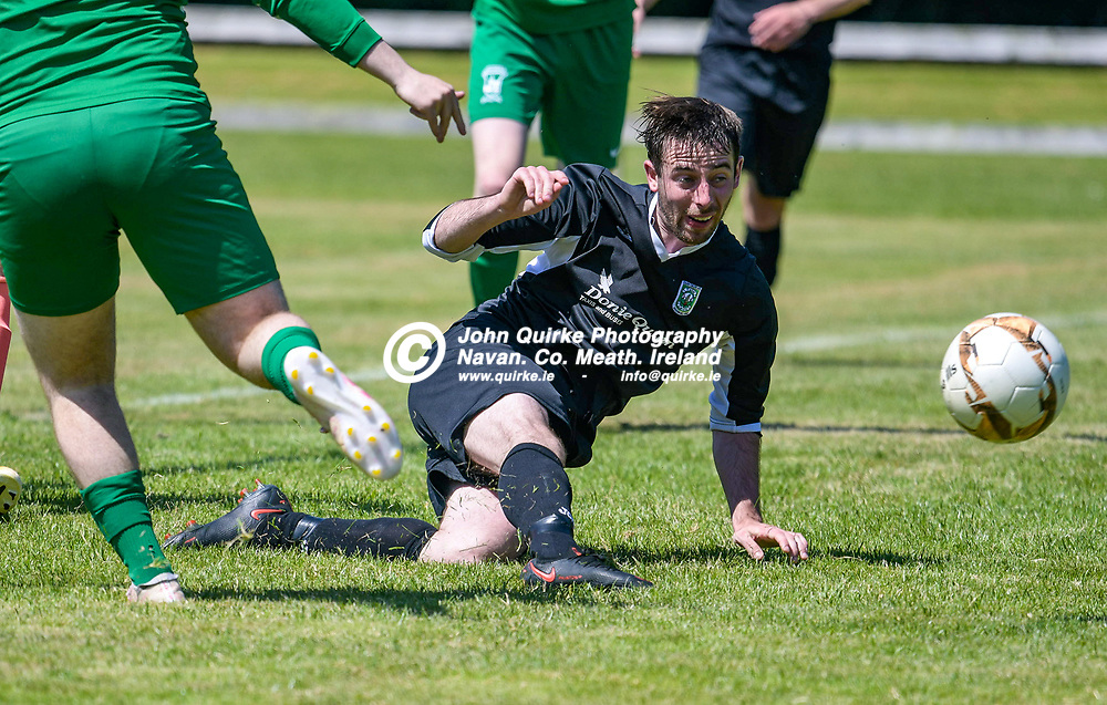Mark Leavy (Trim Celtic),  during the Trim Celtic v Duleek, NEFL (Premier) match in Tully Park, Trim.<br /> <br /> Photo: GERRY SHANAHAN-WWW.QUIRKE.IE<br /> <br /> 18-07-2021