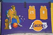 NBA-Kobe Bryant Mural-Aug 2, 2020