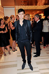 DOUGLAS BOOTH at a party to celebrate the opening of the Louis Vuitton Bond Street Maison, New Bond Street, London on 25th May 2010.