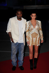 """Kim Kardashian and Kanye West attend The """"Cruel Summer"""" Presentation during 65th Annual Cannes Film Festival on May 23, 2012 in Cannes, France. Photo by ABACAPRESS.COM  