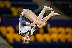 October 28, 2018 - Doha, Quatar - Sophie Marois of Canada   during  Balancing Beam qualification at the Aspire Dome in Doha, Qatar, Artistic FIG Gymnastics World Championships on 28 of October 2018. (Credit Image: © Ulrik Pedersen/NurPhoto via ZUMA Press)