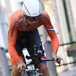 22-06-2016: Wielrennen: NK tijdrijden Mannen: Goeree Overflakee  <br />MIDDELHARNIS (NED) wielrennen  <br />Tim Veldt