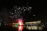 2013 University of Miami Homecoming Fireworks, Frost School of Music, Student Activities Center, Lake Osceola