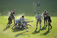Rugby Union - 2020 / 2021 Gallagher Premiership - Round Eight - Wasps vs Northampton Saints - Ricoh Stadium<br /> <br /> Northampton Saints' Alex Mitchell puts in a clearing kick.<br /> <br /> COLORSPORT/ASHLEY WESTERN