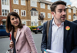 © Licensed to London News Pictures. 02/09/2015. London, UK. Liz Kendall campaigning in Wood Green  Photo credit : James Gourley/LNP