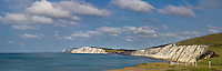 A panoramic view of Compton Bay looking towards Freshwater and Tennyson down during the 2010 J.P. Morgan Asset Management Round the Island Race. The flotilla can be seen on the horizon.<br /> <br /> Three shot 50mm panorama at f5.0 1/1250<br /> <br /> Part of the Ocean Seen - Oceanic Photography Exhibition.<br /> <br /> Sponsored by Wightlink - Dimbola Museum & Galleries, Freshwater Bay, Isle of Wight - 29th June to 2nd September 2012.<br /> <br /> A collaborative summer show, bringing together three great oceanic photographers to celebrate the way we interact with our great British coastline.