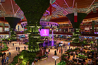 Doha ,Qatar -December 27 , 2019 : Mall of Qatar  the largest shopping mall of Qatar