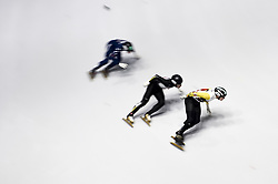 February 8, 2019 - Torino, Italia - Foto LaPresse/Nicolò Campo .8/02/2019 Torino (Italia) .Sport.ISU World Cup Short Track Torino - 1500 meter Men Quater Finals.Nella foto: Stijn Desmet guida il gruppo..Photo LaPresse/Nicolò Campo .February 8, 2019 Turin (Italy) .Sport.ISU World Cup Short Track Turin - 1500 meter Men Quater Finals.In the picture: Stijn Desmet leads the pack (Credit Image: © Nicolò Campo/Lapresse via ZUMA Press)