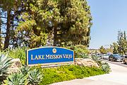 Lake Mission Viejo Signage