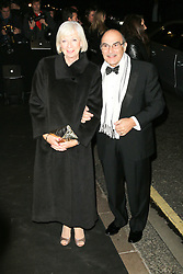 © Licensed to London News Pictures. David Suchet and his wife Sheila Ferris attending the London Evening Standard Theatre Awards at the The Savoy Hotel in London, UK on 17 November 2013. Photo credit: Richard Goldschmidt/PiQtured/LNP