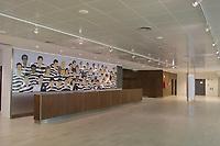 LISBOA-20 OUTUBRO:Estrelas do Sporting C.P. num mural na ˆrea pœblica do Est‡dio Alvalade XXI¼ casa da equipa da super liga do Sporting C.P. e que vai albergar o EURO 2004, 20-10-03 19:45 no est‡dio Alvalade XXI.<br />(PHOTO BY: AFCD/NUNO ALEGRIA)