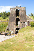 Ironworks museum industrial archaeology,  UNESCO World Heritage site, Blaenavon, Monmouthshire, South Wales, UK