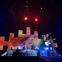 All Time Low performing live at Manchester Arena on the Renegades Tour, Manchester, United Kingdom, 2018-03-16
