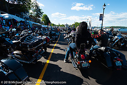 Weirs Beach during Laconia Motorcycle Week. NH, USA. Friday, June 15, 2018. Photography ©2018 Michael Lichter.