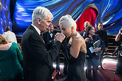 Oscar® nominees Sam Elliot and Lady Gaga, during The 91st Oscars® at the Dolby® Theatre in Hollywood, CA on Sunday, February 24, 2019.