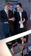 His royal highness the prince of oranje opens on theatre  luxor the second international architecture biennale Rotterdam. The second editie of architecture biennale stands dominated by the zondvloed and aims at the relation between water and architecture in the Netherlands and the rest of the world. Curator is Adriaan geuze, landscape architect and director of West 8.<br /> <br /> Zijne Koninklijke Hoogheid de Prins van Oranje opent  in het Rotterdamse Luxor Theater de tweede Internationale Architectuur Biënnale Rotterdam. De tweede editie van de Architectuur Biënnale staat in het teken van De Zondvloed en richt zich op de relatie tussen water en architectuur in Nederland en de rest van de wereld. Curator is Adriaan Geuze, landschapsarchitect en directeur van West 8.Vervolgens bezichtigd de Prins  de tentoonstellingen De Hollandse Waterstad en Mare Nostrum in expositieruimte Las Palmas.