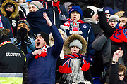 Fans Zone of PSG during the French Cup football match between Paris Saint-Germain and Marseille on February 28, 2018 at Parc des Princes Stadium in Paris, France - Photo Pierre Charlier / ProSportsImages / DPPI
