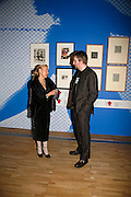 OLGA SVIBLOVA AND BEN WEAVER, The Opening of Modernism. V. & A. 4 April 2006. ONE TIME USE ONLY - DO NOT ARCHIVE  © Copyright Photograph by Dafydd Jones 66 Stockwell Park Rd. London SW9 0DA Tel 020 7733 0108 www.dafjones.com