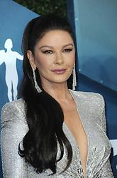 Catherine Zeta-Jones at the 26th Annual Screen Actors Guild Awards held at the Shrine Auditorium in Los Angeles, USA on January 19, 2020.