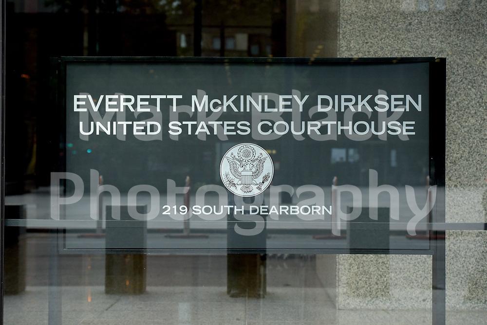 Everett McKinley Dirksen federal court house building in Chicago, Illinois. Photo by Mark Black
