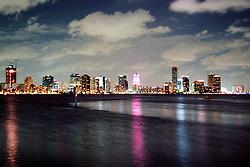 downtown Miami at night.Miami, Florida.