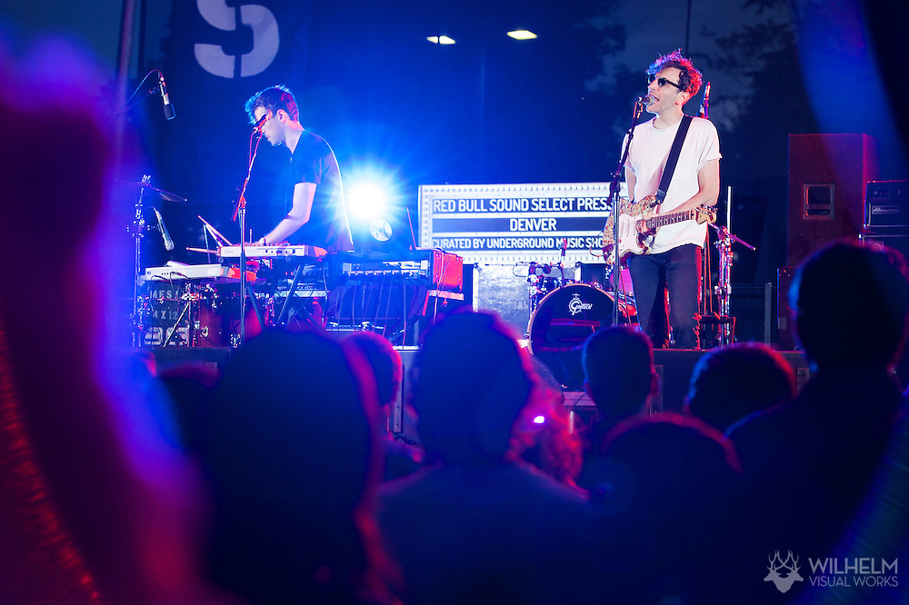 Tanlines perform at Red Bull Sound Select Presents: Denver, at the Underground Music Showcase in Denver, CO, USA, on 25 July, 2014.