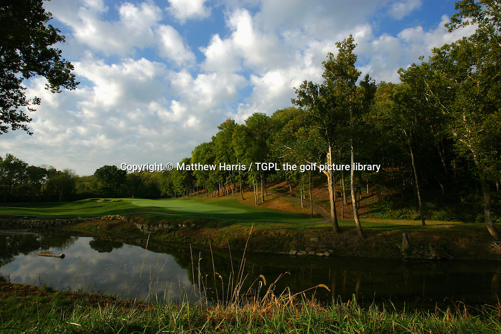 Valhalla during autumn 2007. Venue for the 2008 Ryder Cup Matches between USA and Europe to be staged in September.<br /> Shown here is the 6th - par 4.