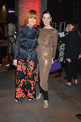 Left to right, MARY PORTAS and MELANIE RICKEY at a Night of Disco in aid of Save The Children held at The Roundhouse, Chalk Farm Road, London on 5th March 2015.