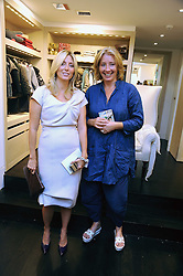 Left to right, PRINCESS MARIE-CHANTAL OF GREECE and EMMA THOMPSON at a party to celebrate the opening of Pincess Marie-Chantal of Greece's store 'Marie-Chantal' 133A Sloane Street, London on 14th October 2008.