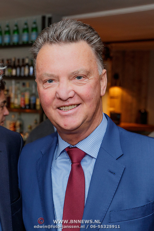 NLD/Amsterdam/20190308 - Boekpresentatie Gerard van der Lem, Louis van Gaal