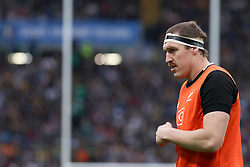 November 24, 2018 - Rome, Rome, Italy - Brodie Retallick during the Test Match 2018 between Italy and New Zealand at Stadio Olimpico on November 24, 2018 in Rome, Italy. (Credit Image: © Emmanuele Ciancaglini/NurPhoto via ZUMA Press)