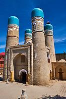 Ouzbekistan, Boukhara, patrimoine mondial de l Unesco, Chor Minor mosquee // Uzbekistan, Bukhara, Unesco world heritage, Chor Minor mosque